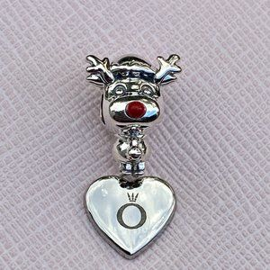 PANDORA Rudolph the Red Nose Reindeer Charm
